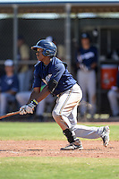 Milwaukee Brewers outfielder Troy Stokes (30) during an Instructional League game against the Seattle Mariners on October 4, 2014 at Peoria Stadium Training Complex in Peoria, Arizona.  (Mike Janes/Four Seam Images)