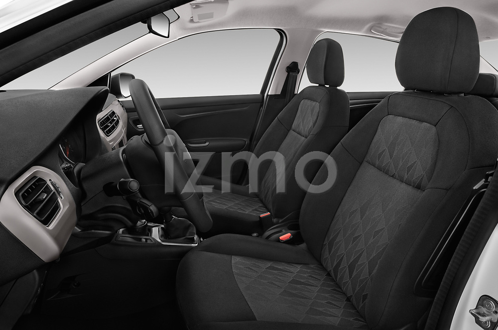 Front seat view of a 2017 Citroen C-Elysee Live 4 Door Sedan front seat car photos