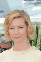 Actress Sandra Hueller attends the 'Toni Erdmann' photocall during the 69th annual Cannes Film Festival at the Palais des Festivals on May 14, 2016 in Cannes, France.