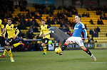 Barrie McKay comes close for Rangers