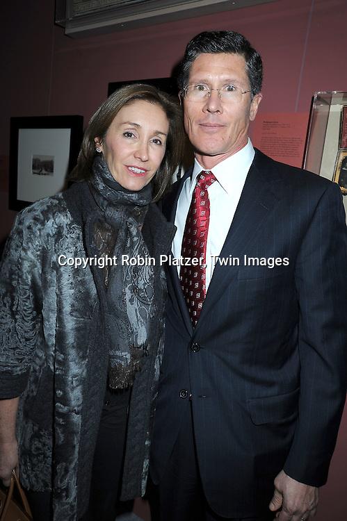 John Thain and wife Carmen Thain