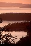 Haro Strait, San Juan Islands, San Juan Island, Puget Sound, Washington State, Pacific Northwest, USA,