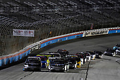 #4: Todd Gilliland, Kyle Busch Motorsports, Toyota Tundra Mobil 1 and #99: Ben Rhodes, ThorSport Racing, Ford F-150
