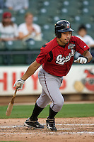 Iribarren, Hernan 4864.jpg. Nashville Sounds at Round Rock Express. August 27th, 2009 at the Dell Diamond in Round Rock, Texas. Photo by Andrew Woolley.