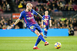 Aleix Vidal of FC Barcelona in action during the La Liga 2017-18 match between FC Barcelona and Deportivo La Coruna at Camp Nou Stadium on 17 December 2017 in Barcelona, Spain. Photo by Vicens Gimenez / Power Sport Images