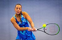 Amstelveen, Netherlands, 17  December, 2020, National Tennis Center, NTC, NK Indoor, National  Indoor Tennis Championships,   :  Sem Wensveen (NED) <br /> Photo: Henk Koster/tennisimages.com