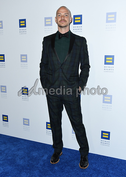 10 March 2018 - Los Angeles, California - Peter Paige. The Human Rights Campaign 2018 Los Angeles Dinner held at JW Marriott LA Live. Photo Credit: Birdie Thompson/AdMedia
