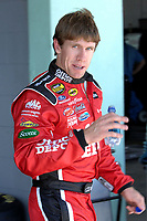 HOMESTEAD MIAMI, FL - OCTOBER 16, 2006: NASCAR Nextel cup drivers have open practice at Homestead Miami Speedway, Homestead Florida<br /> <br /> People;  Carl Edwards