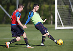 Andy Halliday and Nicky Clark