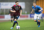 St Johnstone v Inverness Caledonian Thistle....22.02.14    SPFL<br /> Graeme Shinnie and David Wotherspoon<br /> Picture by Graeme Hart.<br /> Copyright Perthshire Picture Agency<br /> Tel: 01738 623350  Mobile: 07990 594431