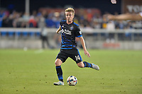 San Jose, CA - Monday July 10, 2017: Jackson Yueill during a U.S. Open Cup quarterfinal match between the San Jose Earthquakes and the Los Angeles Galaxy at Avaya Stadium.