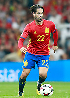 Spain's Isco Alarcon during FIFA World Cup 2018 Qualifying Round match. September 2,2017.(ALTERPHOTOS/Acero)