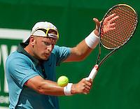 15-8-09, Den Bosch,Nationale Tennis Kampioenschappen, Halve Finale, Bart de Gier