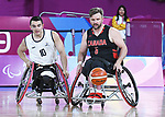 Bo Hedges, Lima 2019 - Wheelchair Basketball // Basketball en fauteuil roulant.<br />