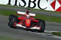 Rubens Barrichello (#2 Ferrari)
