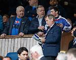 05.05.2018 Rangers v Kilmarnock: Dave King signs autographs