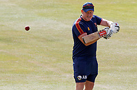 Anthony McGrath of Essex leads slip fielding drills prior to Essex CCC vs Kent CCC, Bob Willis Trophy Cricket at The Cloudfm County Ground on 1st August 2020