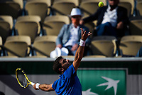 6th June 2021; Roland Garros, Paris France; French Open tennis championships day 8;  Federico Delbonis ( Arg)
