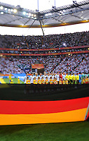 Opening ceremony of team Germany and Nigeria during the FIFA Women's World Cup at the FIFA Stadium in Frankfurt, Germany on June 30th, 2011.