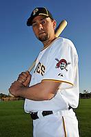 Feb 28, 2010; Bradenton, FL, USA; Pittsburgh Pirates  pitcher D.J. Carrasco (77) during  photoday at Pirate City. Mandatory Credit: Tomasso De Rosa/ Four Seam Images