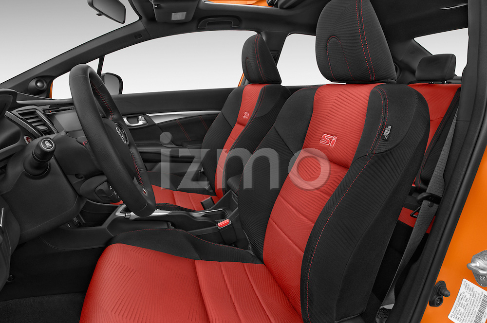 Front seat view of a 2015 Honda Civic Si 4 Door Sedan front seat car photos
