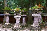 Lanterns, Toshogu Shrine, Nikko, Tochigi, Japan