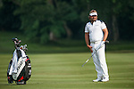 Victor Dubuisson at Hong Kong Open golf tournament at the Fanling golf course on 23 October 2015 in Hong Kong, China. Photo by Xaume Olleros / Power Sport Images