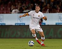 rJordan Veretout of AS Roma  29th August 2021;  Estadio Arechi, Salerno, Campania, Italy;  Serie A Football league, Salernitana versus Roma;