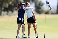 Tara Raj wins her semi final match v Anna An during the New Zealand Amateur Golf Championship, Poverty Bay Golf Course, Awapuni Links, Gisborne, Saturday 24 October 2020. Photo: Simon Watts/www.bwmedia.co.nz