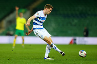 29th December 2020; Carrow Road, Norwich, Norfolk, England, English Football League Championship Football, Norwich versus Queens Park Rangers; Rob Dickie of Queens Park Rangers