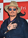 """Johnny Depp, January 28, 2015, Tokyo, Japan : Actor Johnny Depp attends a photo call prior to a press conference for his new film """"Mortdecai""""  in Tokyo, Japan, on January 28, 2015."""