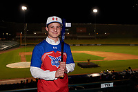 Alexander Leopard during the Under Armour All-America Tournament powered by Baseball Factory on January 17, 2020 at Sloan Park in Mesa, Arizona.  (Zachary Lucy/Four Seam Images)