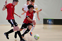 Yume Endo of Selwyn College during the Futsal NZ Secondary Schools Junior Boys Final between Hamilton Boys High School and Selwyn College at ASB Sports Centre, Wellington on 26 March 2021.<br /> Copyright photo: Masanori Udagawa /  www.photosport.nz
