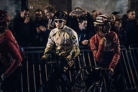 Marianne Vos (NED/WM3 Energie) at the start<br /> <br /> Women's Race<br /> Superprestige Diegem / Belgium 2017