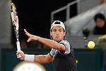 Joao Sousa during Madrid Open Tennis 2015 match.May, 5, 2015.(ALTERPHOTOS/Acero)