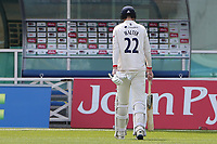 Paul Walter of Essex leaves the field having been dismissed for 30 during Nottinghamshire CCC vs Essex CCC, LV Insurance County Championship Group 1 Cricket at Trent Bridge on 9th May 2021
