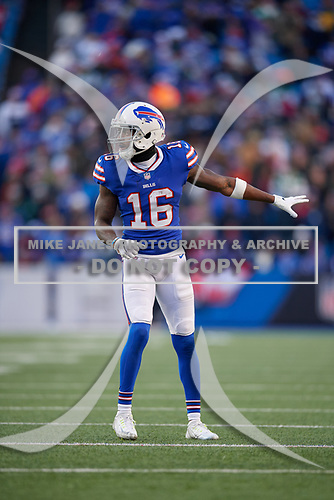 Buffalo Bills wide receiver Robert Foster (16) during an NFL football game against the New York Jets, Sunday, December 9, 2018, in Orchard Park, N.Y.  (Mike Janes Photography)