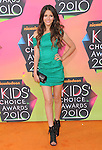 Victoria Justice at Nickelodeon's 23rd Annual Kids' Choice Awards held at Pauley Pavilion in Westwood, California on March 27,2010                                                                                      Copyright 2010 © DVS / RockinExposures