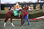 20 February 2009: Cardif Giant with jockey Santiago Reyes Christian before The Southwest at Oaklawn in Hot Springs, Arkansas