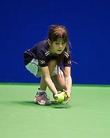 13-12-12, Rotterdam, Tennis Masters 2012, Ballgirl