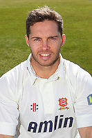 Greg Smith of Essex CCC in LV County Championship Kit - Essex County Cricket Club Press Day at the Essex County Ground, Chelmsford, Essex - 02/04/13 - MANDATORY CREDIT: Gavin Ellis/TGSPHOTO - Self billing applies where appropriate - 0845 094 6026 - contact@tgsphoto.co.uk - NO UNPAID USE.