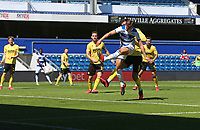 first goal scored for Queens Park Rangers by Conor Masterson of Queens Park Rangers during Queens Park Rangers vs Millwall, Sky Bet EFL Championship Football at Loftus Road Stadium on 18th July 2020