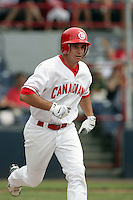 July 12 2009: Anthony Aliotti of the Vancouver Canadians during game against the Boise Hawks at Nat Bailey Stadium in Vancouver,BC..Photo by Larry Goren/Four Seam Images