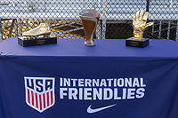 LAKEWOOD RANCH, FL - December 2, 2018: USMNT Under-17 Men's National Team vs Brazil. The 2018 Nike International Friendlies at Premier Sports Campus.