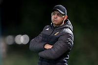 Hornchurch manager Mark Stimson during Hornchurch vs Wingate & Finchley, Pitching In Isthmian League Premier Division Football at Hornchurch Stadium on 6th October 2020
