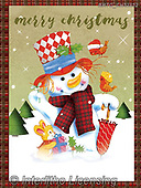 Alfredo, CHRISTMAS SANTA, SNOWMAN, WEIHNACHTSMÄNNER, SCHNEEMÄNNER, PAPÁ NOEL, MUÑECOS DE NIEVE, paintings+++++,BRTOCH52852,#x#