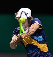 Rotterdam, The Netherlands, 2 march  2021, ABNAMRO World Tennis Tournament, Ahoy, First round match: Alex de Minaur (AUS).<br /> Photo: www.tennisimages.com/henkkoster