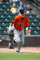 at BB&T Ballpark on April 16, 2017 in Winston-Salem, North Carolina.  The Dash defeated the Astros 6-2.  (Brian Westerholt/Four Seam Images)