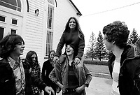 Undated file photo from the 1970's -  Montreal. Quebec , Canada  - youth