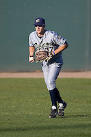 July 16, 2008:  The Eugene Emeralds' Sawyer Carroll playing rightfield during a Northwest League game against the Everett AquaSox at Everett Memorial Stadium in Everett, Washington.